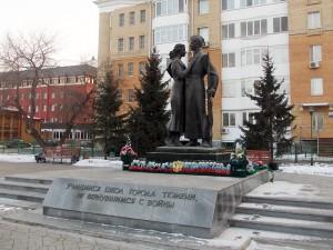 Памятники и арт-объекты в Тюмени