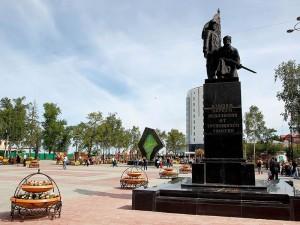 Площади, скверы, парки Тюмени